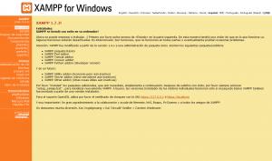 Nuestro XAMPP 1.7.3 en localhost