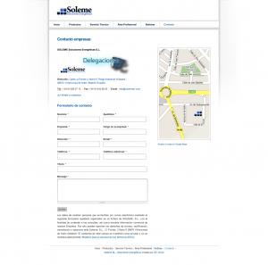 Contacto empresas | Soleme S.L. - Soluciones Energéticas