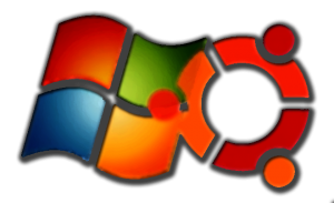 logo Windows7 y Ubuntu