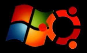 logo Windows7 y Ubuntu