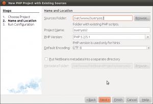 Nuevo Proyecto Symfony NetBeans