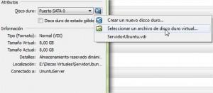 UnuntuServer - Configuración 2 VirtualBox